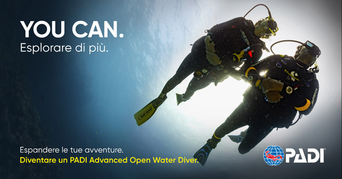 Corso Advanced Open Water Diver PADI - On Line