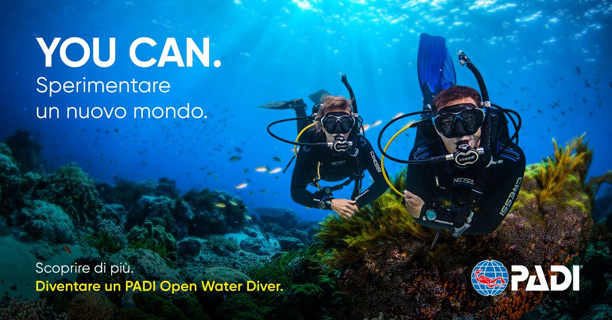 Corso Open Water Diver - On line